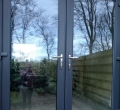 Anthracite French doors