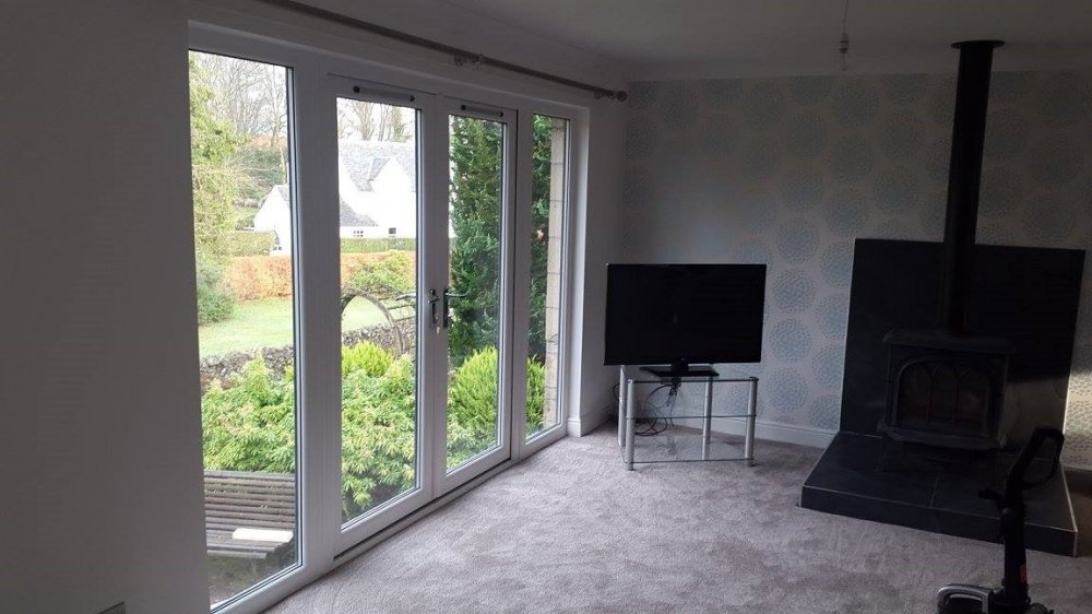 Double triple glazing windowplus home improvements - Double french doors with screens ...