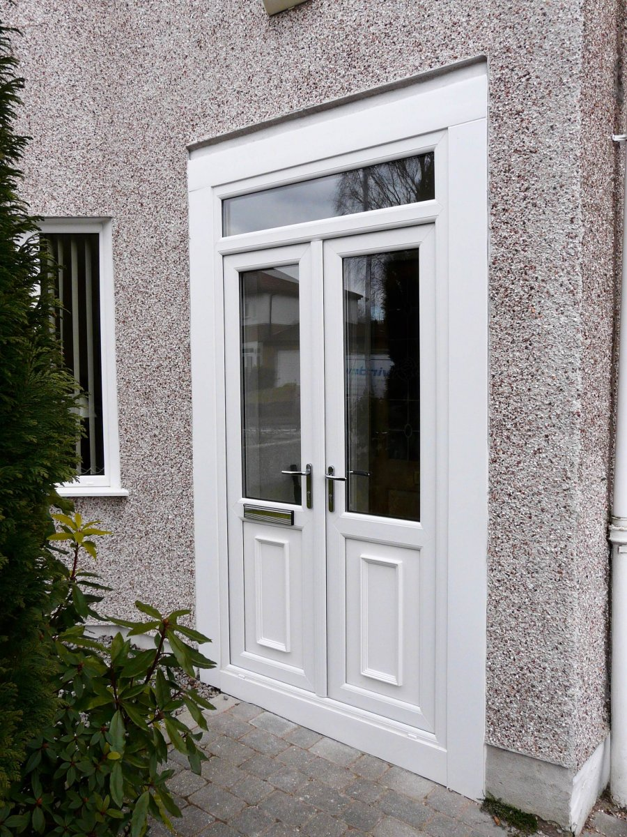 French patio bi fold doors windowplus home improvements for Storm doors for french doors